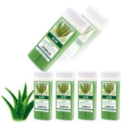 Depilačný vosk 5ks - Aloe vera