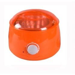 Ohrievač depilačných voskov v plechovke