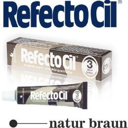 RefectoCil farba na obočie a riasy prirodne Brown 15 ml