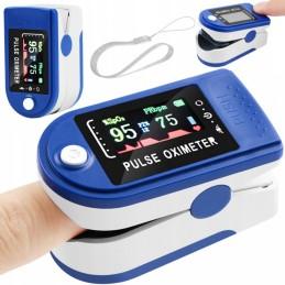 Prstový pulzní oxymetr LCD 14245